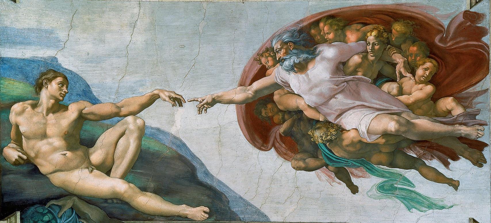 Creación de Adán (Miguel_Ángel)
